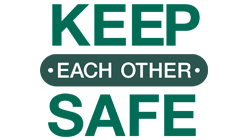 Keep each other safe - CTA